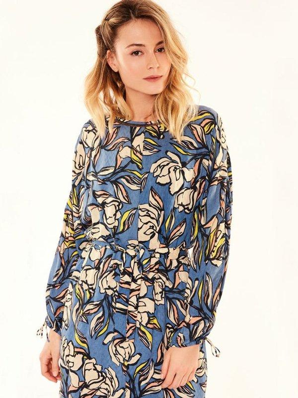 Suncoo Cecile Floral Dress