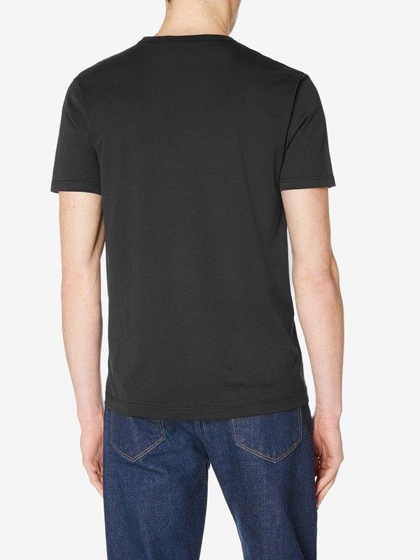 Sunspel Classic T-Shirt in Black