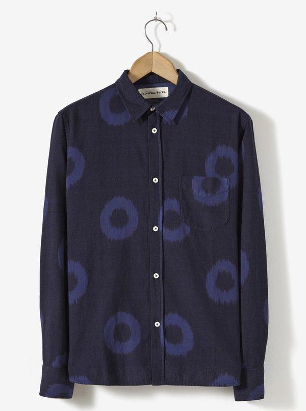 Universal Works Ikat Shirt - Navy