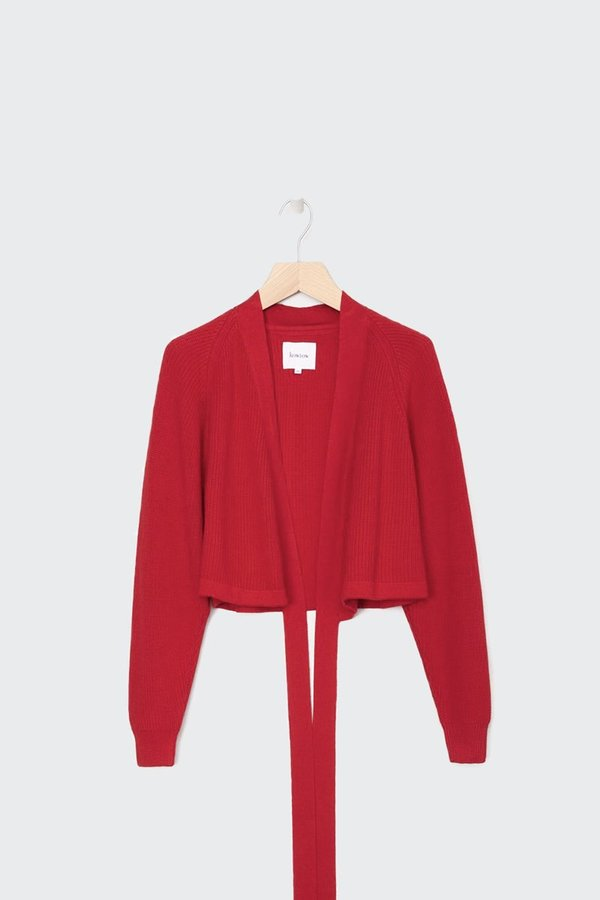 Kowtow Composure Cardigan - Red
