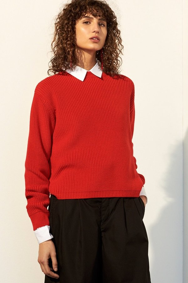 Kowtow Escape Crew - red