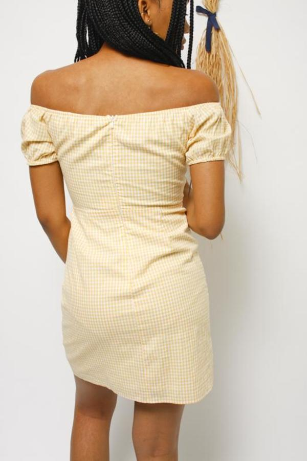 Honey Punch Off the Shoulder Janie Dress