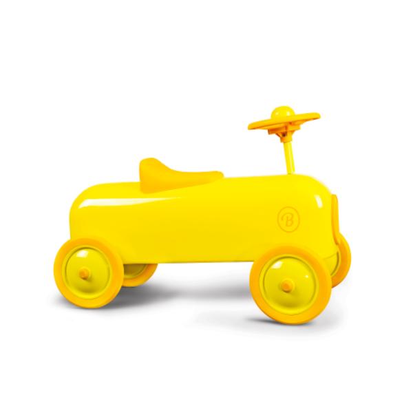Baghera RACER RIDE ON CAR - LEMON
