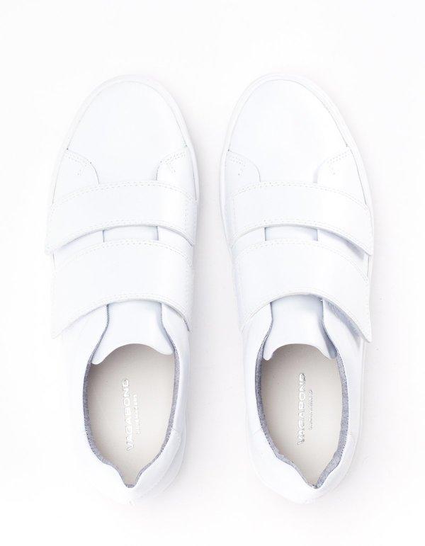 Vagabond Zoe Velcro Sneaker - White