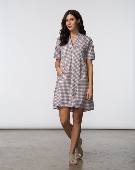 SBJ Austin Dana Dress - Plaid