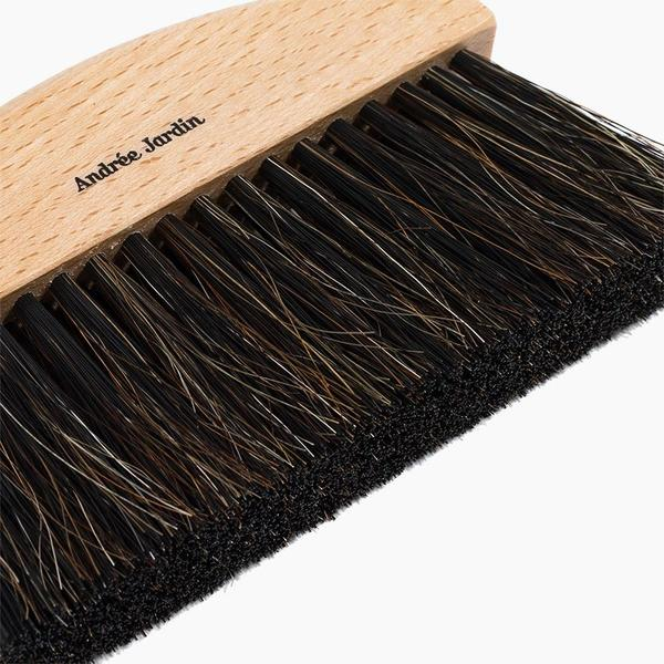 Andree Jardin Mini Brush and Dustpan Set - Black