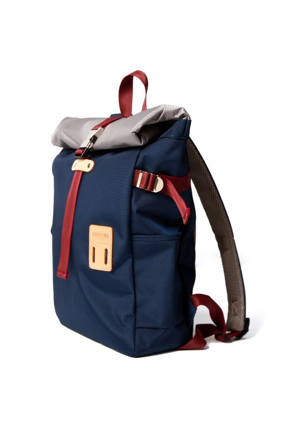 Harvest Label Rolltop Backpack - Navy