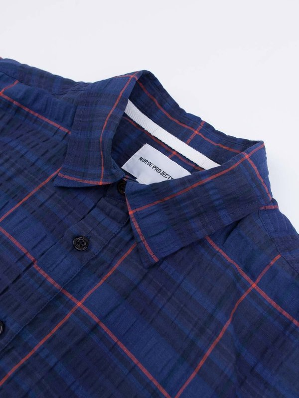 Norse Projects Theo Textured Check