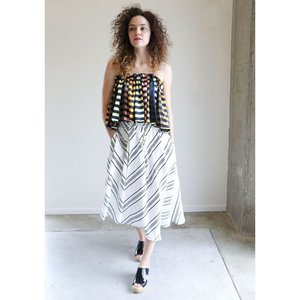 Apiece Apart Turkanna Asymmetric Skirt