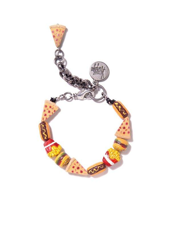 Venessa Arizaga Junk Food Bracelet