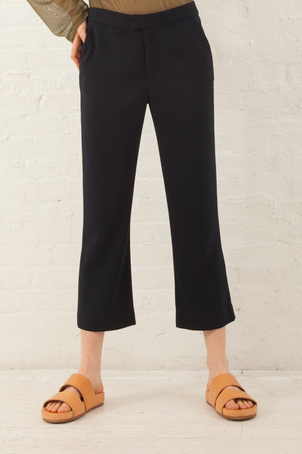 Nomia Cropped Trouser - Midnight