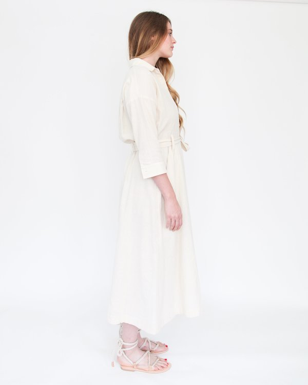 Esby Mabel Shirt Dress - Natural