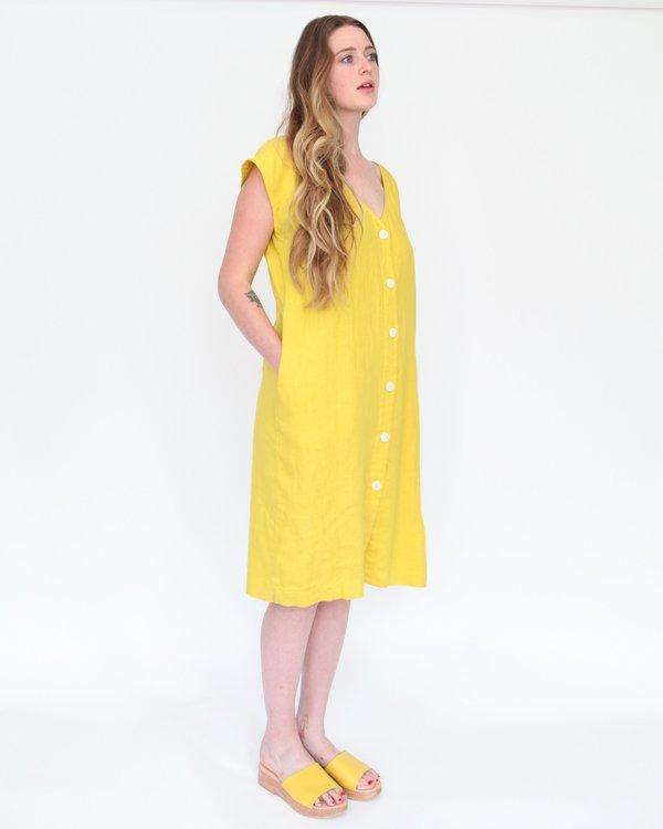 Esby Malia Shift Dress - Curry