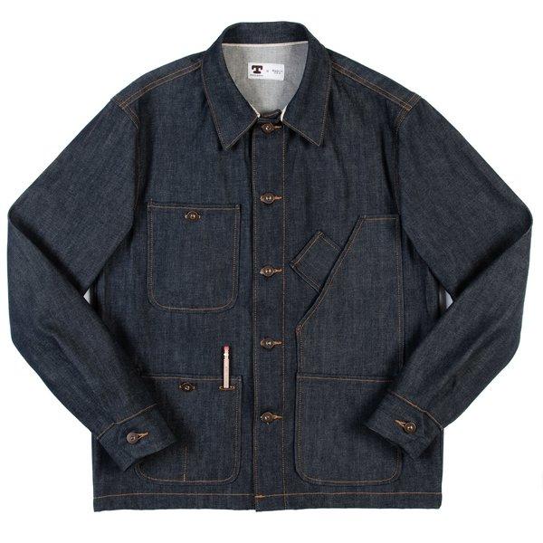 Tellason Coverall Jacket - 12.5 oz Cone Mills Denim