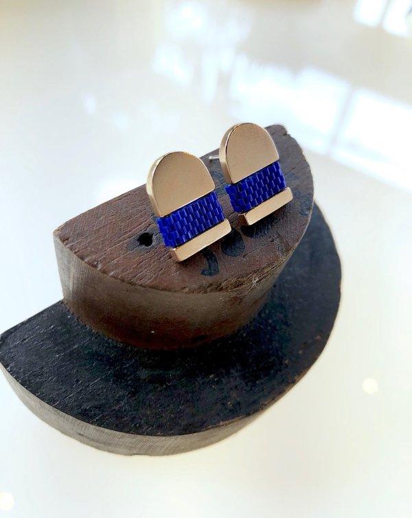 Oru: Bronze Yurei Earrings