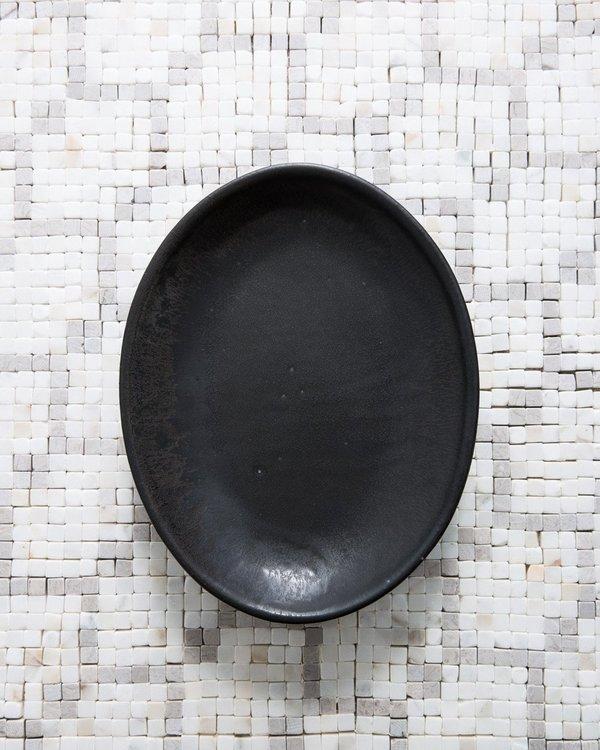 Sarah Kersten Oval Dish in Black