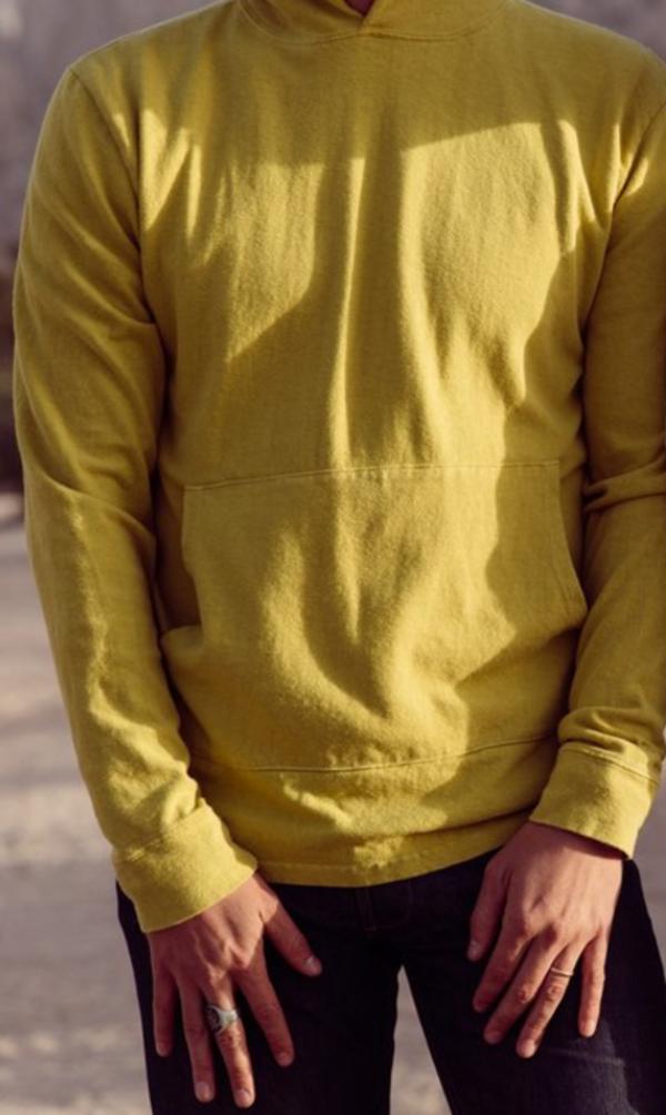 Baja Hooded Sweatshirt 10 oz, Aspen Gold