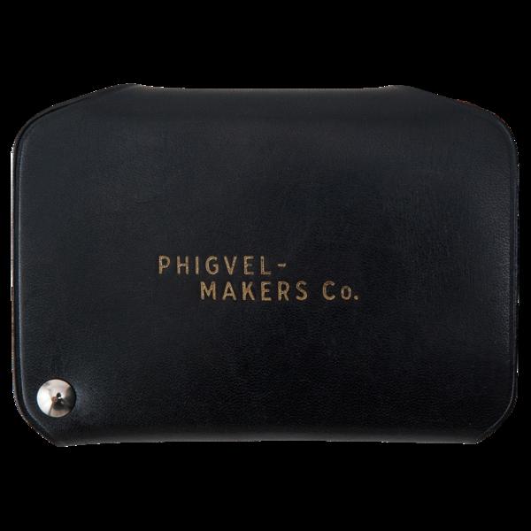 Card Case, Vintage Black