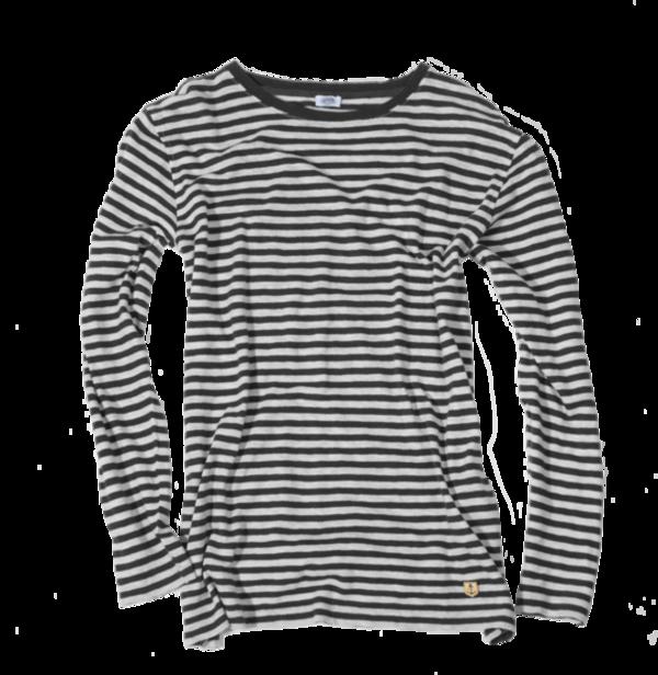 Cotton / Linen Mariniere, Nature / Black