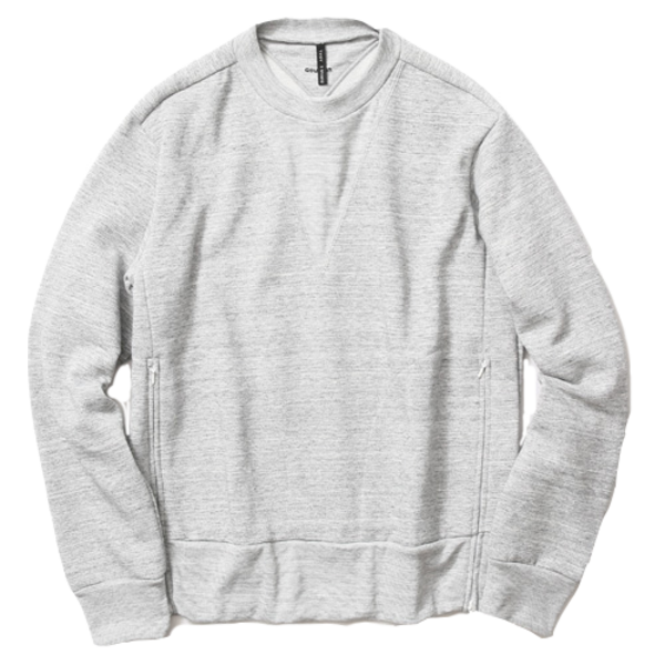 Goldwin Crewneck Shirt, Heather Grey
