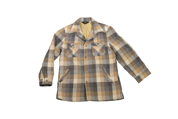 Lee Flannel Jacket, Tan / Grey