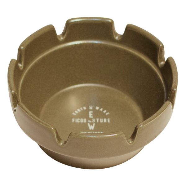 Military Hasami Block Ash Tray, Army