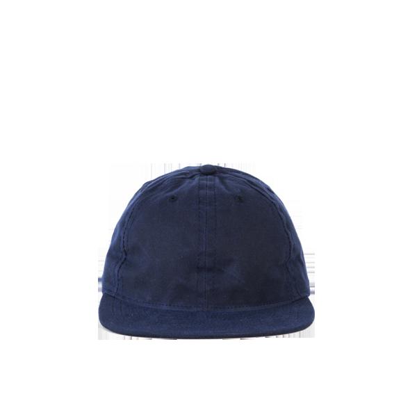 FairEnds Waxed Cotton Ball Cap, Navy