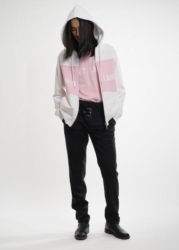 Helmut Lang Pink Campaign PR T-Shirt
