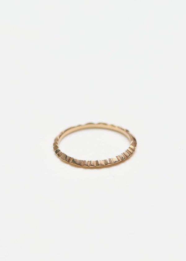 Ursa Major File Ring - 14Karat Yellow Gold