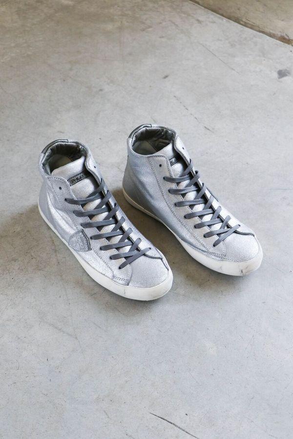 Philippe Model Madeline Sneakers in Metal