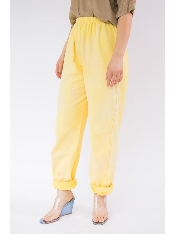 Audrey Louise Reynolds Organic Cotton Sweatpants - Yellow