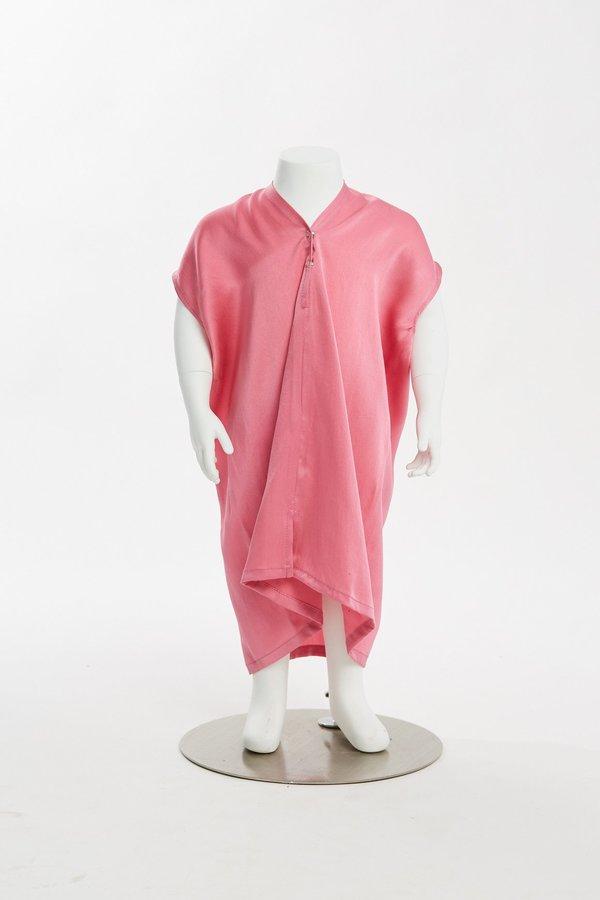 Kids Miranda Bennett Zero Waste Everyday Dress - Silk Charmeuse in Madrid