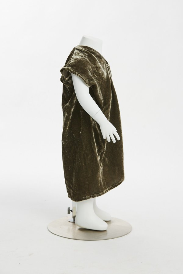 Kids Miranda Bennett Zero Waste Everyday Dress - Velvet in Shetland