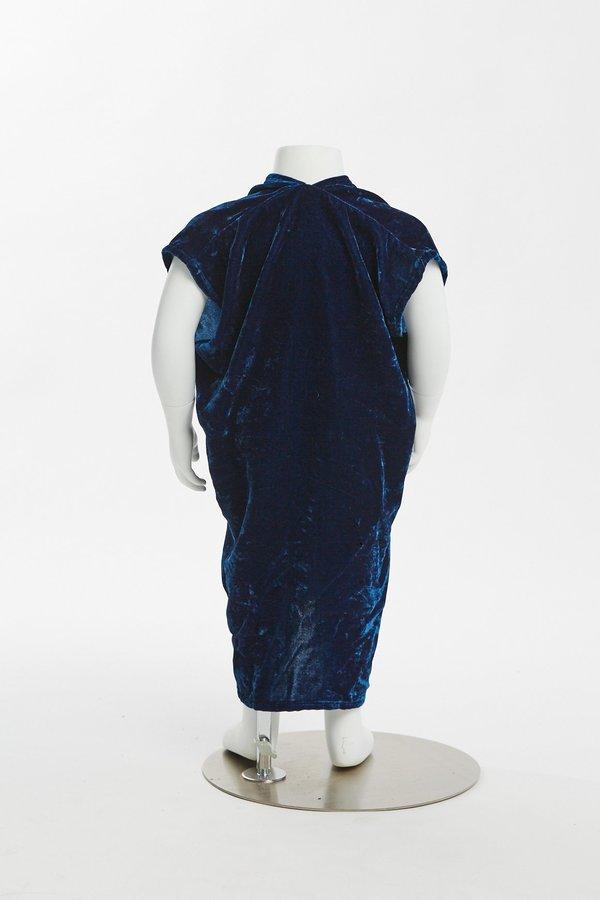 Kids Miranda Bennett Zero Waste Everyday Dress - Velvet in Versailles