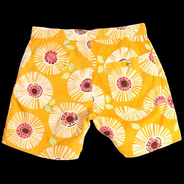 Local Shorts, Yellow Flower
