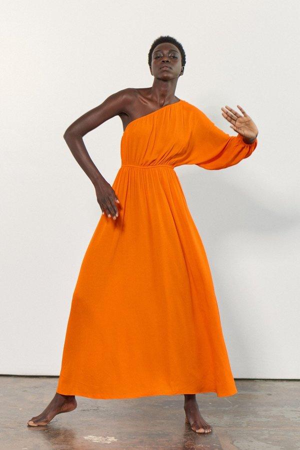 Mara Hoffman Vera Coverup dress in orange