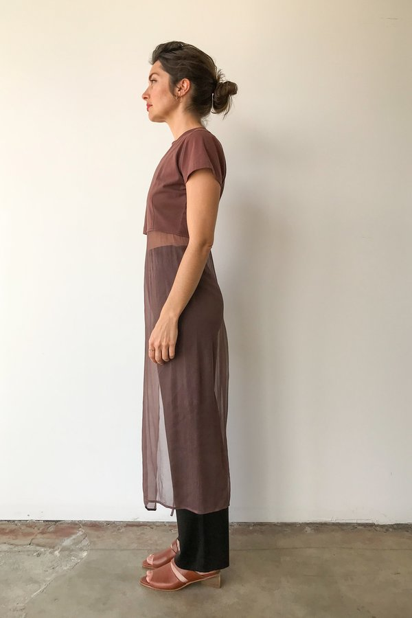 Vintage Morgan Le Fay Shirt With Atatched Overlay Skirt