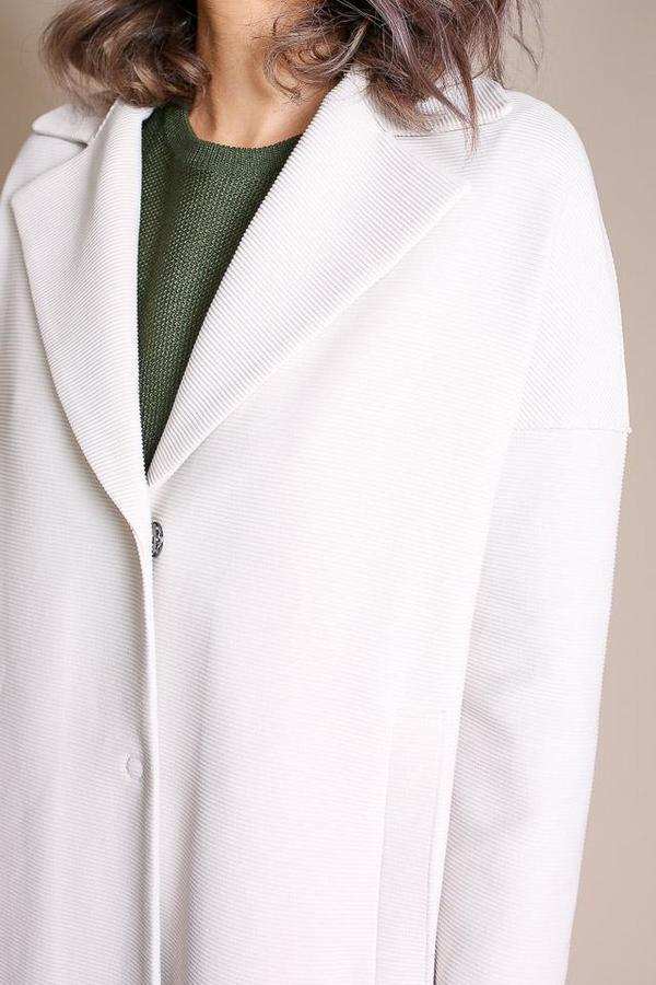Harris Wharf London Oversized Coat in Off White