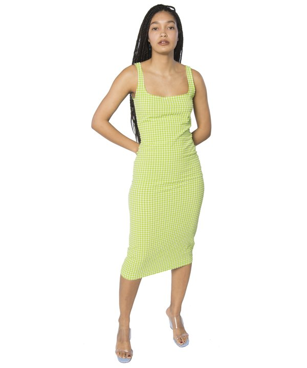 Maryam Nassir Zadeh Lime Selma Dress
