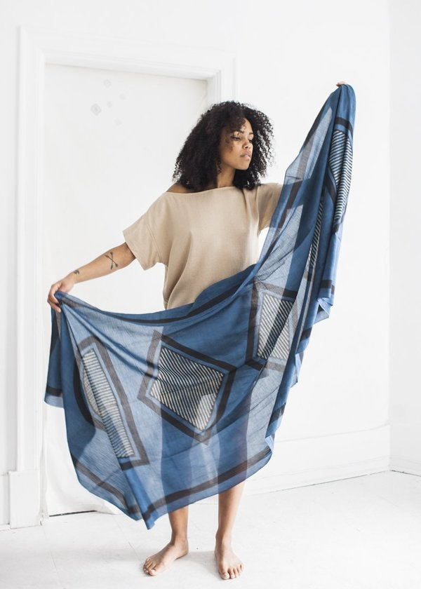 Block Shop Textiles Scarf in Girard