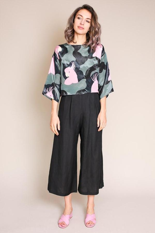 Samuji Brencis Shirt in Iso Kakadu