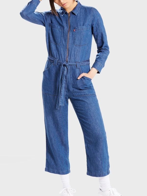 Levis Made & Crafted Alix Jumpsuit - Blue