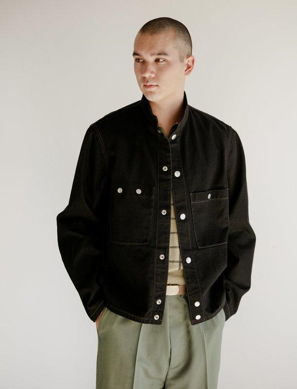Lemaire Denim Blacksmith Jacket - Black