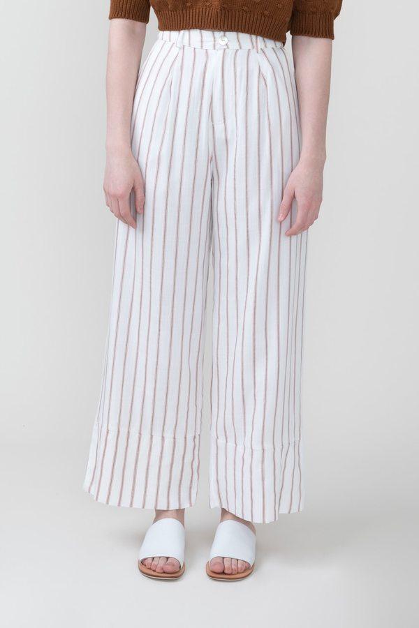 Sancia Carocca Pant in Clay Stripe