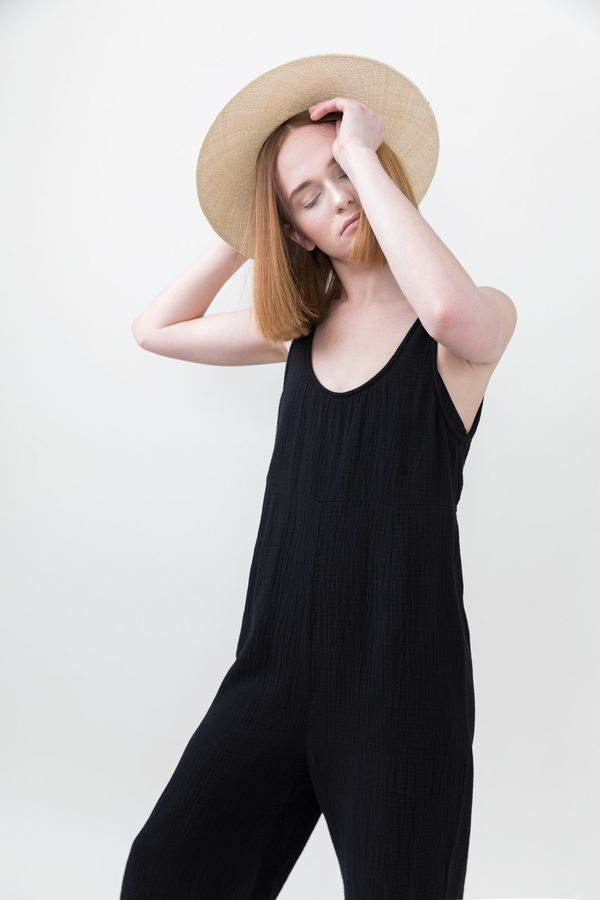 Bryony Jumpsuit in Black. - size M (also in L,S) Tavik