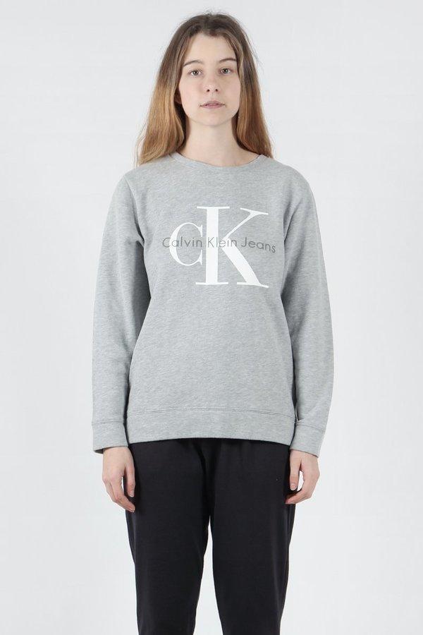 Vintage Logo Sweater - light grey heather