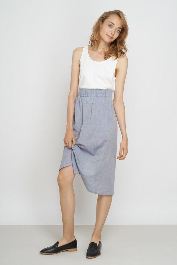 Jungle Folk Yael Skirt - Light Blue
