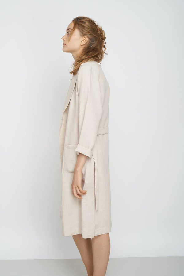 Jungle Folk Prema Coat LINEN BEIGE