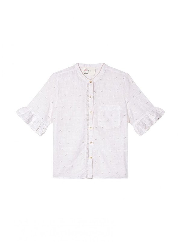 Leon & Harper Chemin Lace Shirt