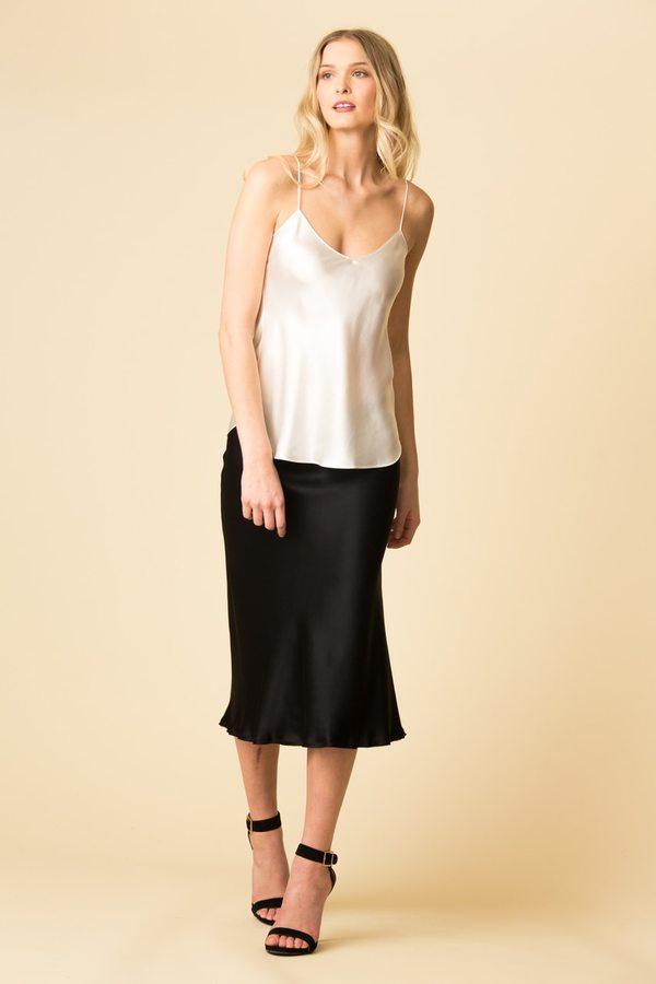 Nili Lotan Ara Skirt - Black